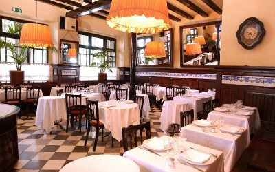 The Set Portes restaurant: the history on a tablecloth