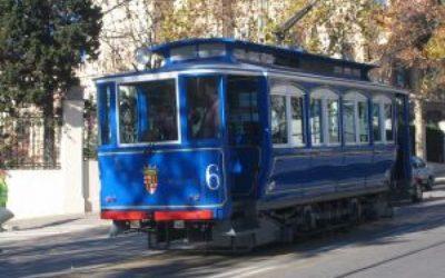 Barcelone en tramway (1908)