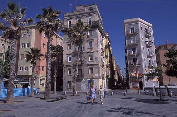Barcelonas diminutas: hoy, la Barceloneta