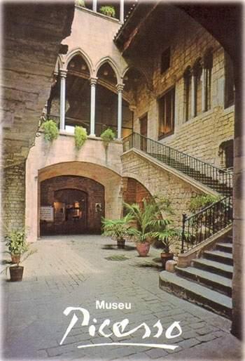 La Rue Montcada et le Musée Picasso à Barcelone: une relation en pierre