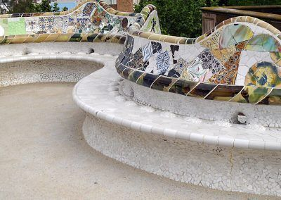The Park Güell and the Sagrada Familia: Gaudi and the Nature