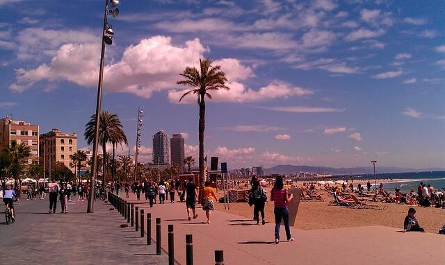 Playas de Barcelona con encanto