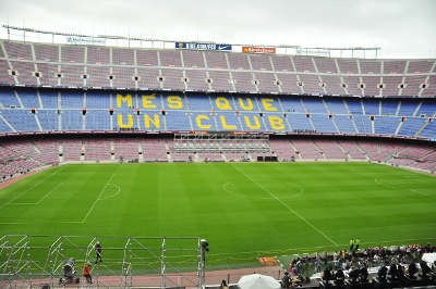 Visite Camp Nou Français
