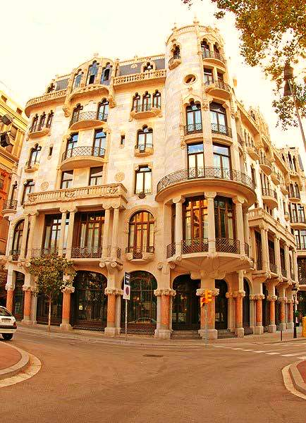 Hotel Casa Fuster al barri de Gràcia