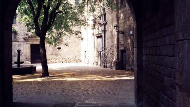Sant Felip Neri Square Gothic Area